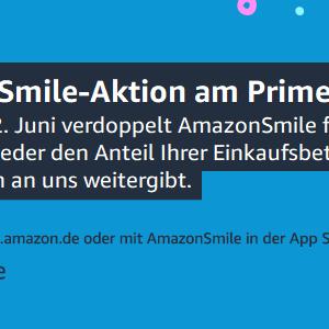 Jetzt noch mehr Spenden beim Amazon Prime Day – 21.-22.6.